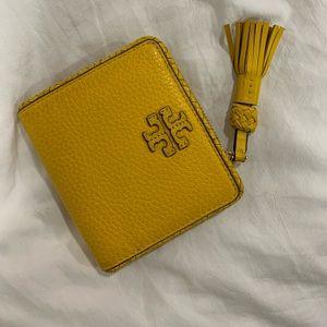 Yellow Tory Burch Bohemian Wallet!